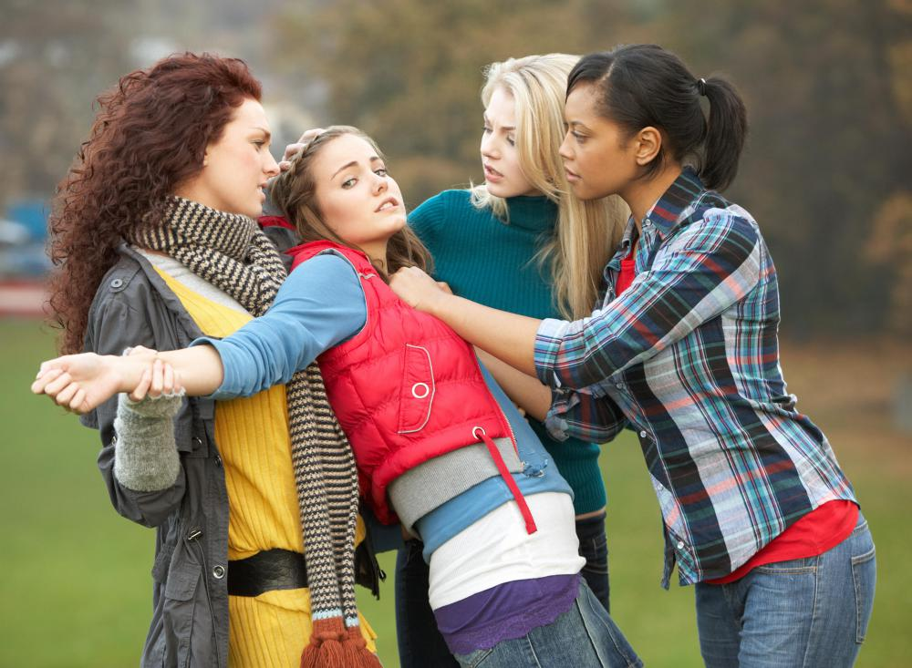 It is rare for female bullying to escalate to physical violence, but it does happen.