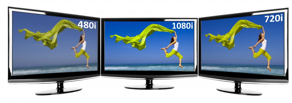 HDTVs usually have 1080 active pixels.