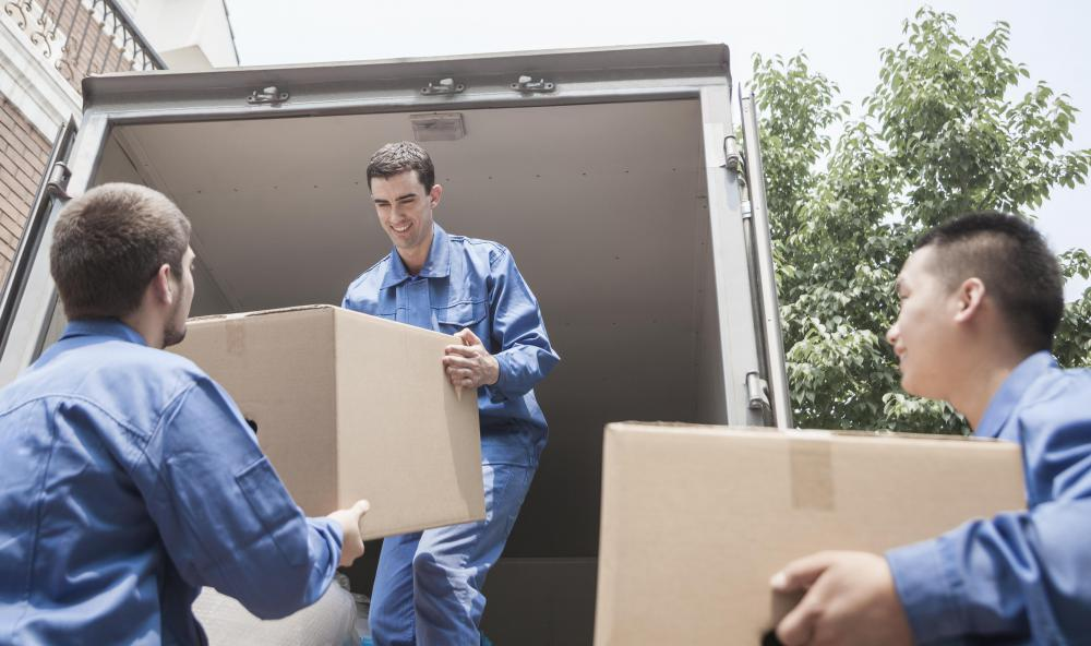 Relocation expenses, one of the many benefits available to a speech therapy assistant, may include the use of professional movers.
