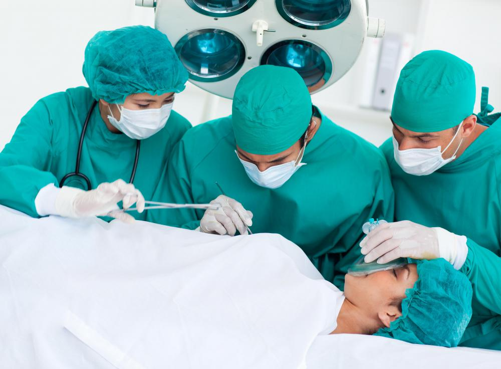 Nerve blocks may be used to create regional anesthesia for surgery.