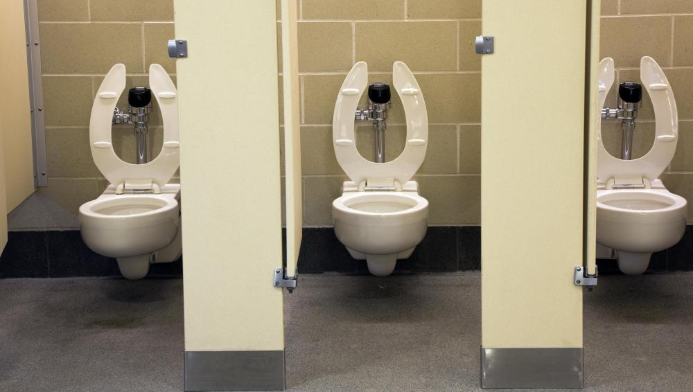 Commercial Toilets : Commercial toilets use a flushometer instead of a standard flush valve ...