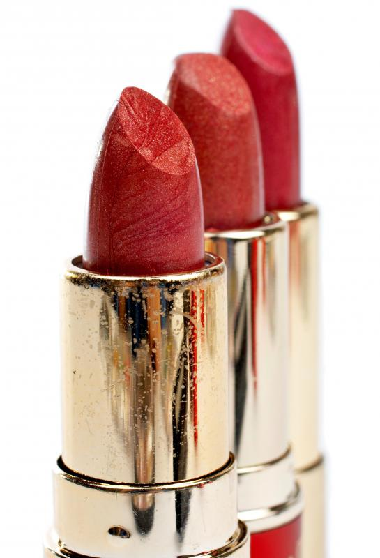 Lipstick won't stay on the lips as long as lip stain.