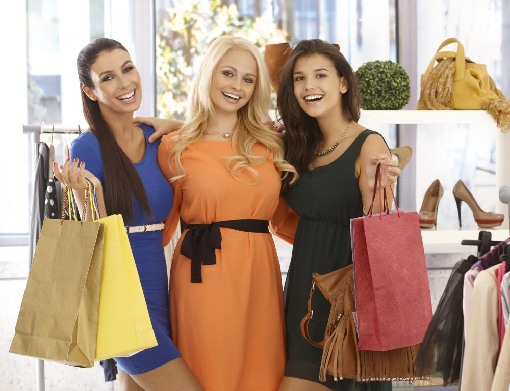 Fashion marketing professionals work for upscale boutiques.