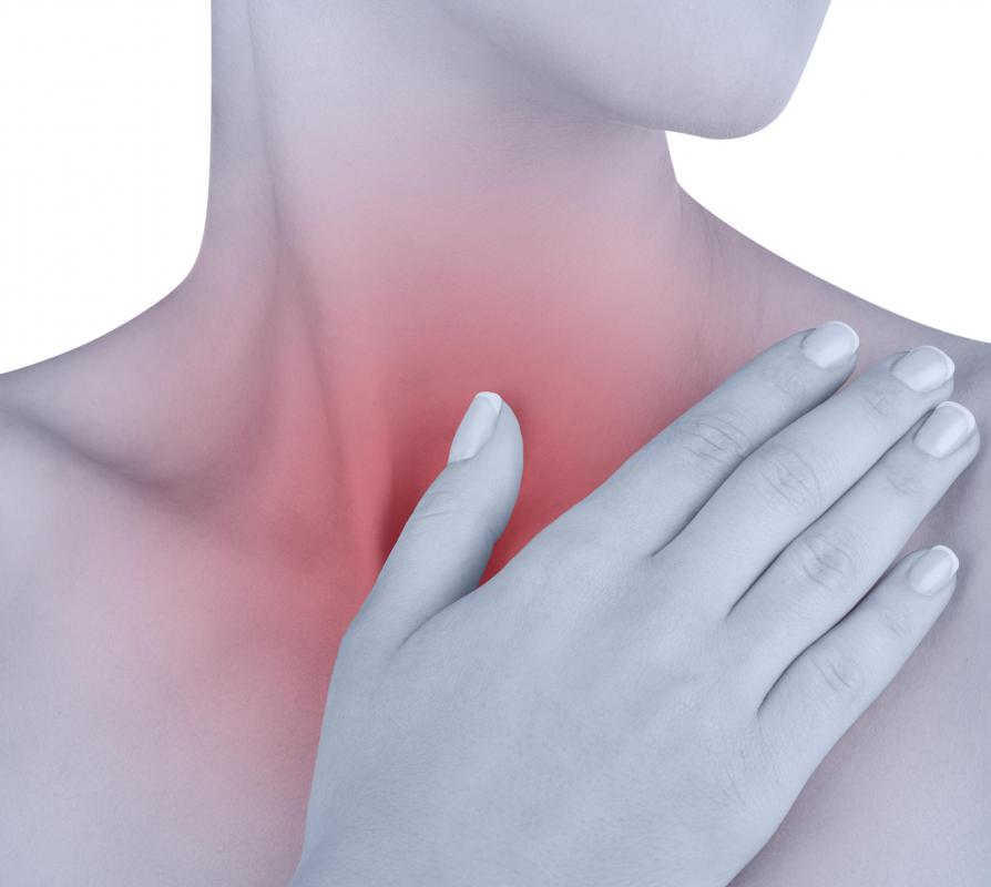 A dry cough that lasts more than eight weeks may be a sign of tracheitis, or inflammation of the trachea.