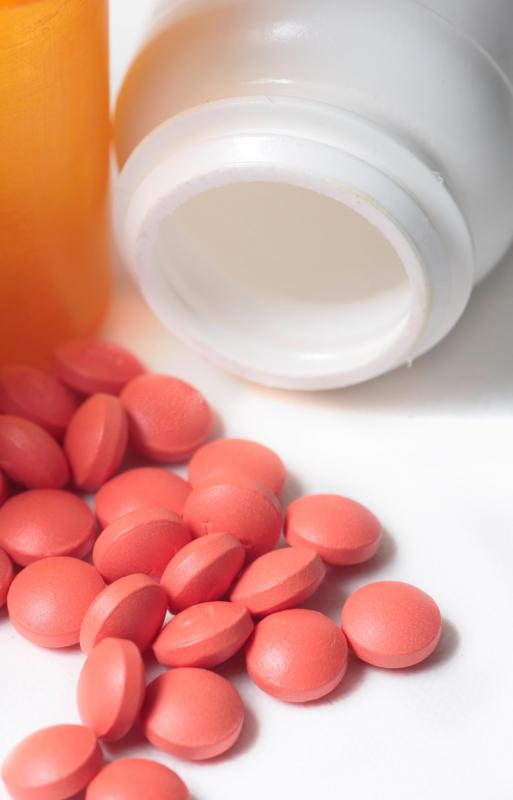 The pain from a muscle spasm can be treated with an NSAID, such as ibuprofen.