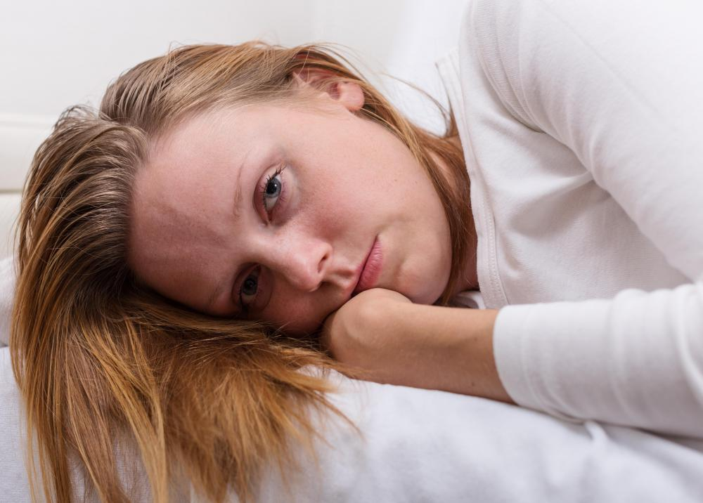 Some medications used to treat depression may cause some people to experience insomnia as a side effect.