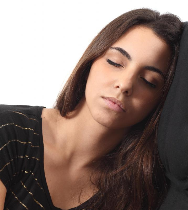Heavy menstrual bleeding may cause extreme fatigue.