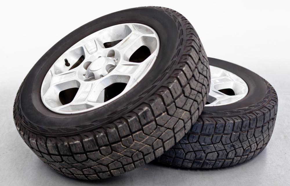 Many gas stations and autoshops accept tires for recycling.