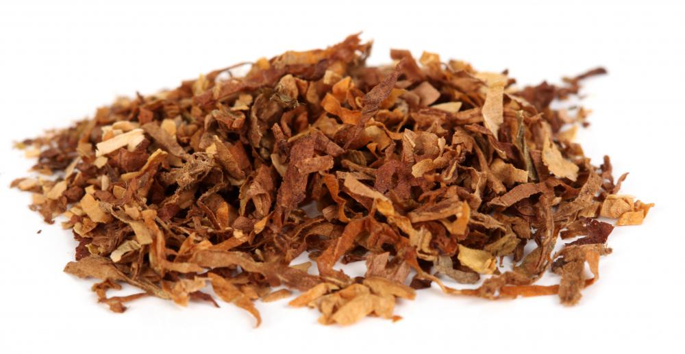 Due to the stimulant, nicotine found in tobacco, tobacco can be considered a psychoactive drug.