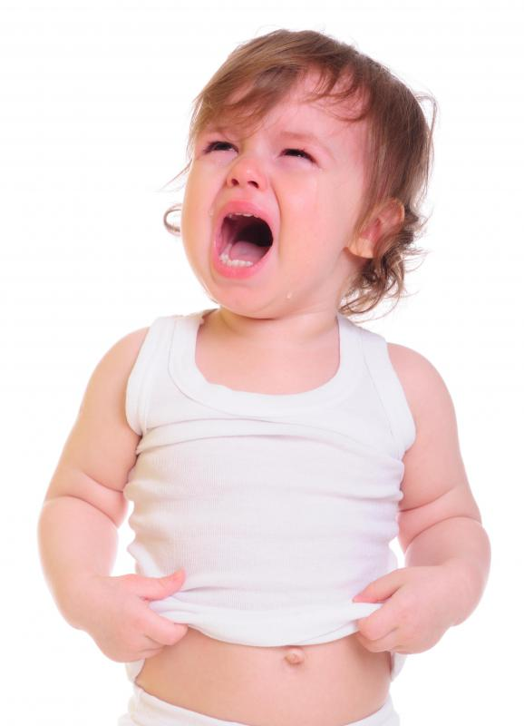 Children suffering from Smith-Magenis syndrome often experience behavioral outbursts, like temper tantrums.