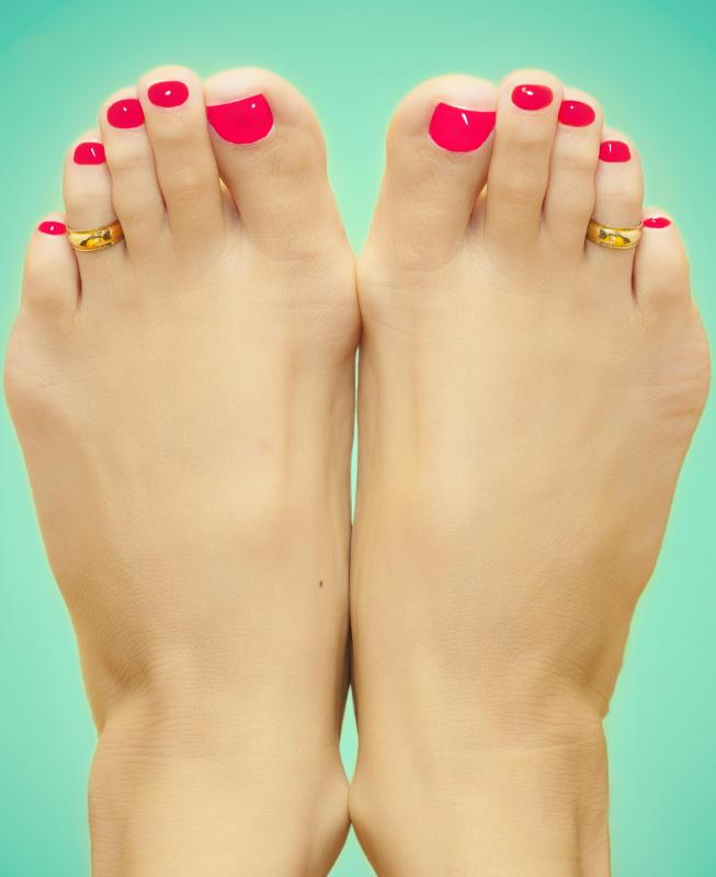 Toenails Dark Nail Polish