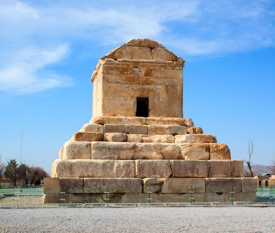 The tomb of Cyrus the Great is found in Pasargad.