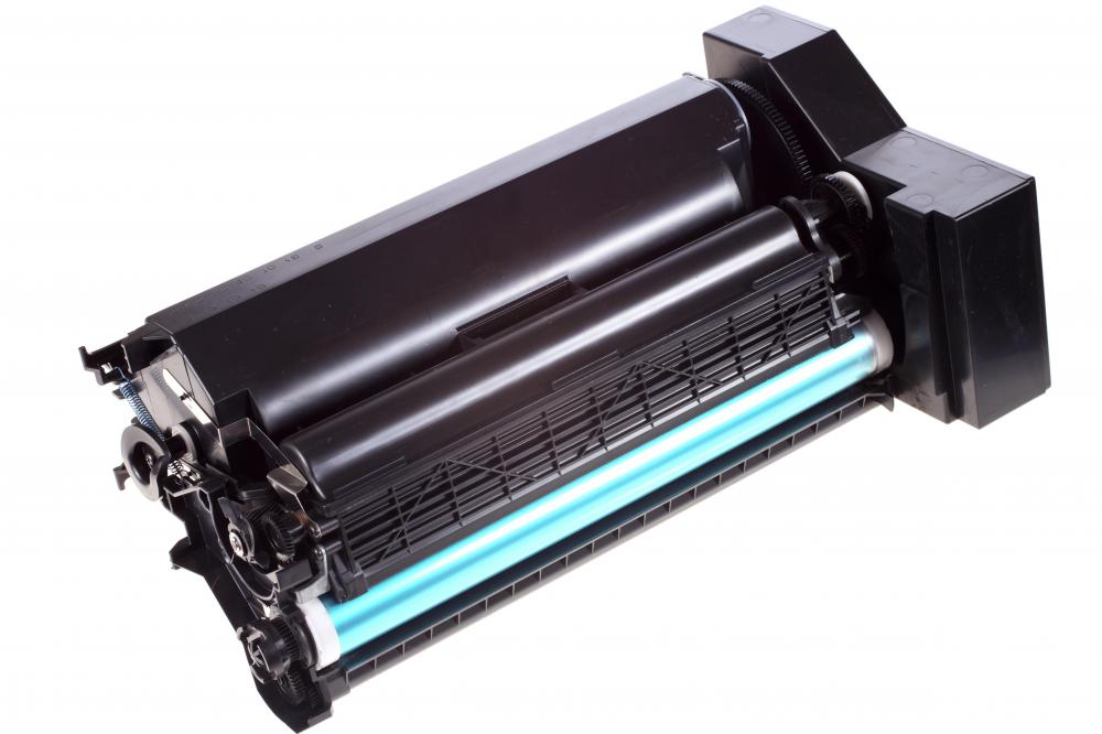 Printer toner is often supplied in a print cartridge.