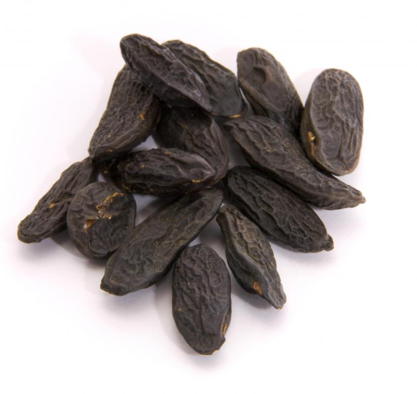 Tonka beans, a natural source of coumarin.