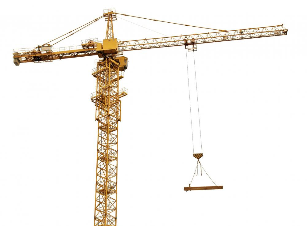 Large cranes commmonly employ compound pulley systems.