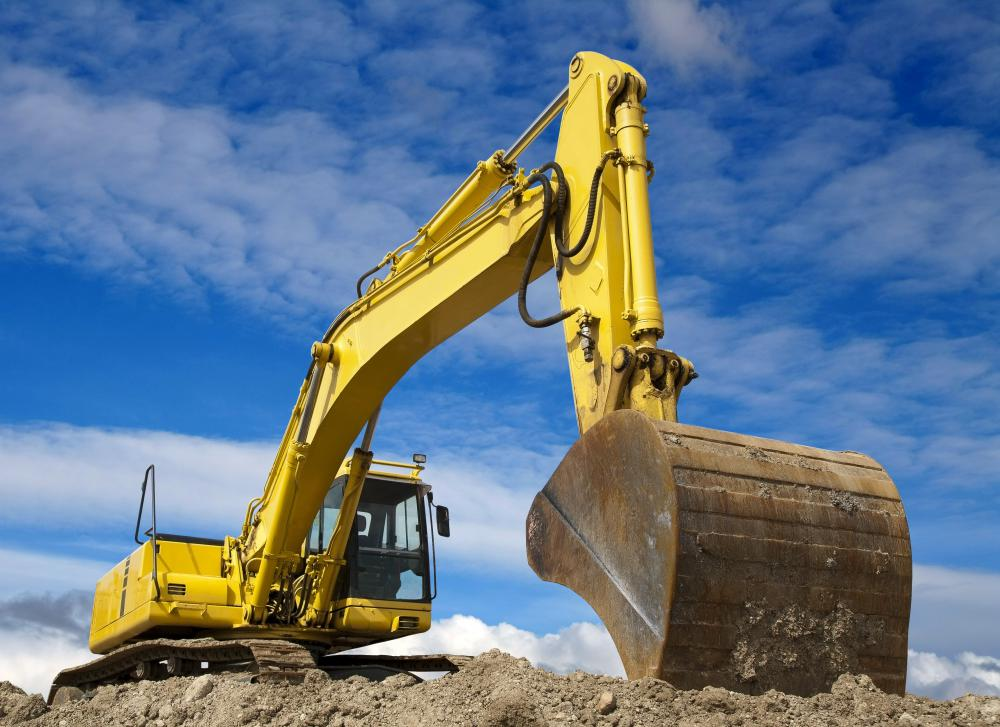 Construction trainees may learn how to operate various types of excavators.