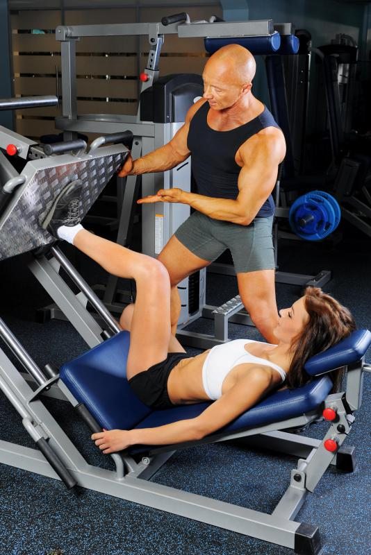 Various types of weight machines offer resistance training.