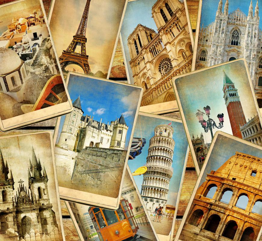 Some travel advisors specialize in a niche, such as travel to and within Europe.