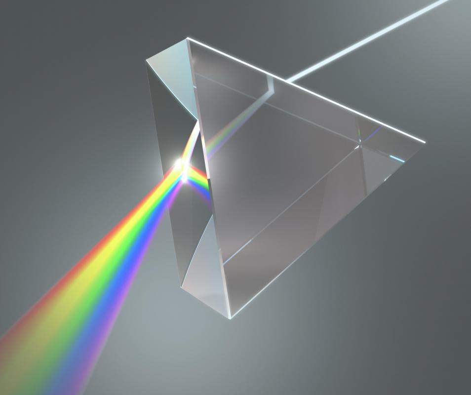 Spectroscopy involves the different colors of light.