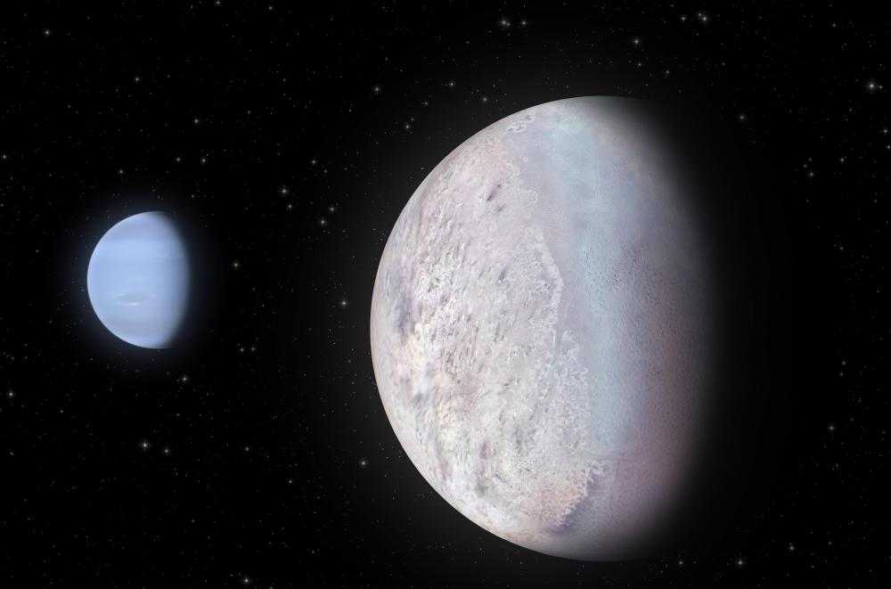 "Neptune's moon Triton is considered one of the ""big seven"" moons."