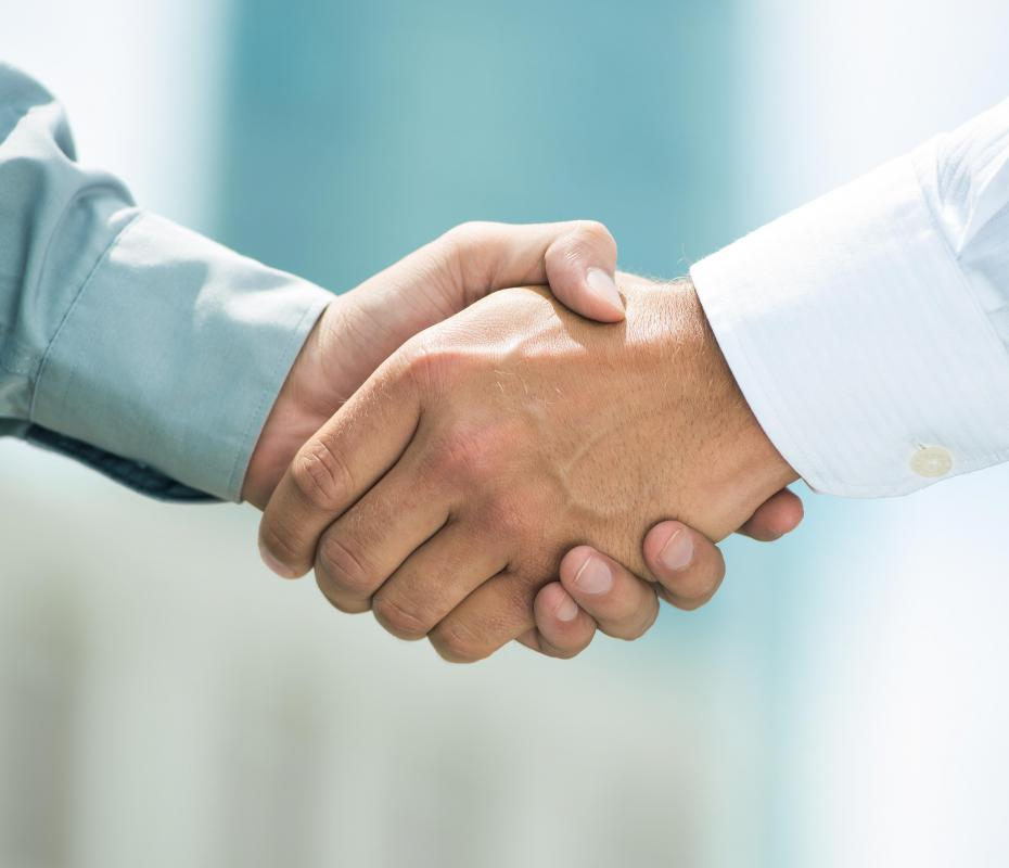 Some organizations, such as fraternities or the Masons, may use a secret handshake for identification purposes.