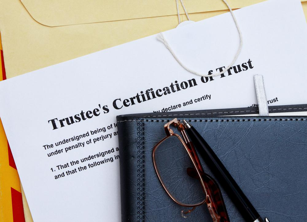 Trustors provide assets to another with the use of a legal document called a trust.