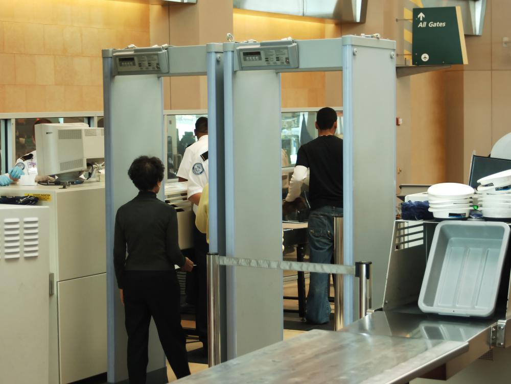 Different airports might have stricter rules regarding what can be carried onto an airplane.
