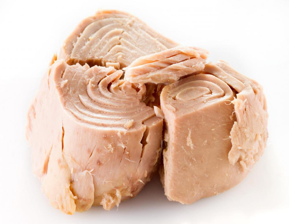 Canned tuna is a main ingredient for tuna mayonnaise.