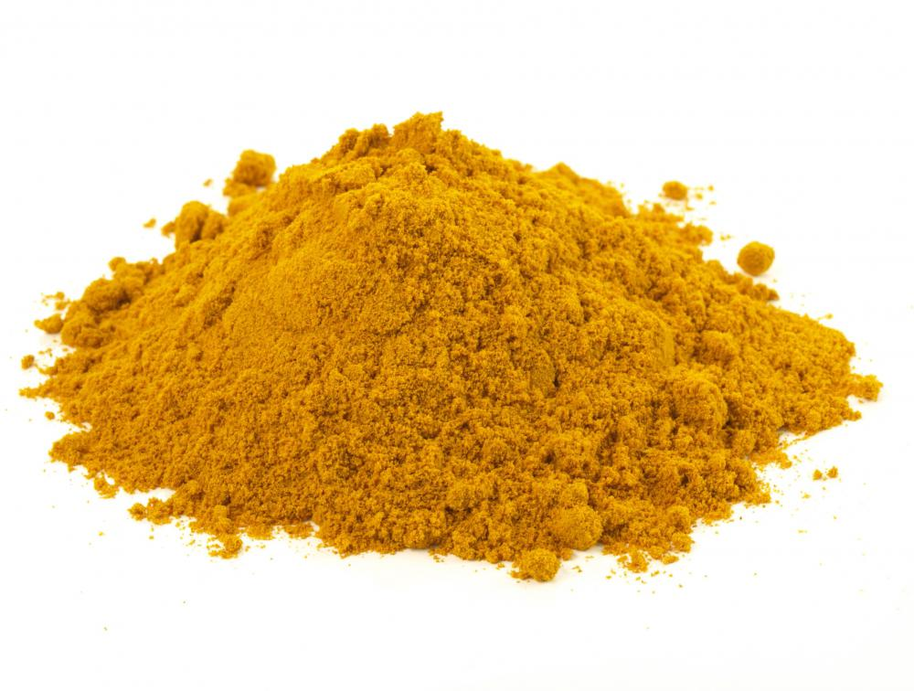 Turmeric, which is often included in mrouzia.
