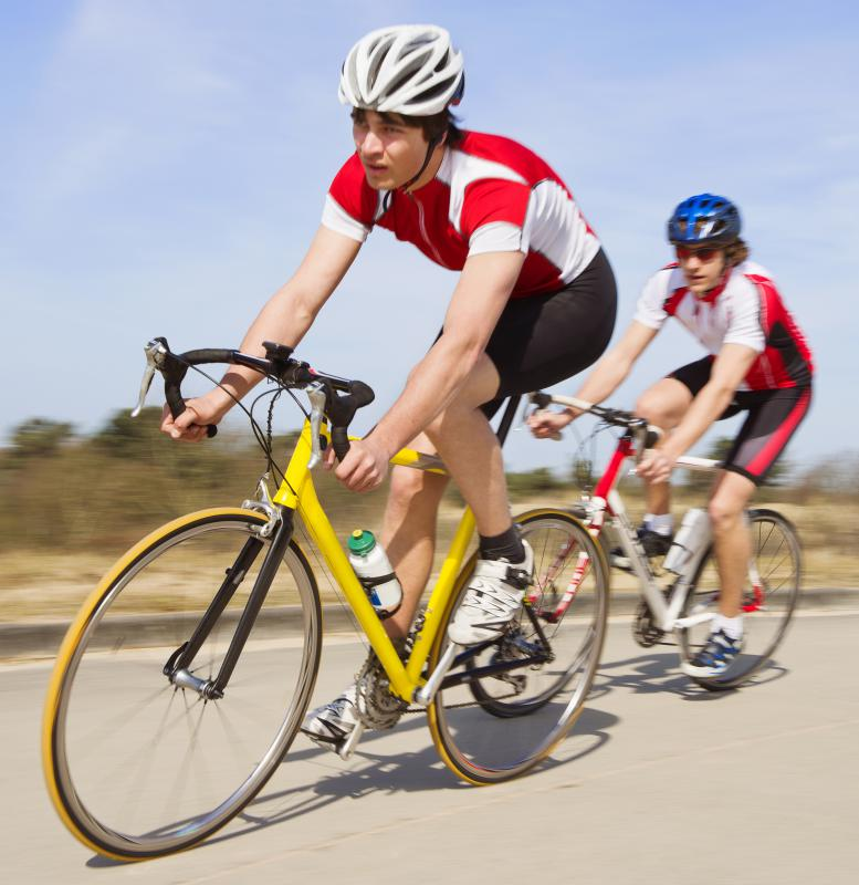 Bicycling may help lower cholesterol.