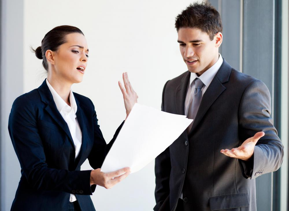 Administrative office managers often have to mediate conflicts.