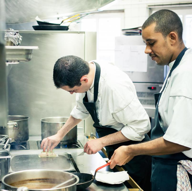 Some restaurants employ lead cooks in their kitchen.