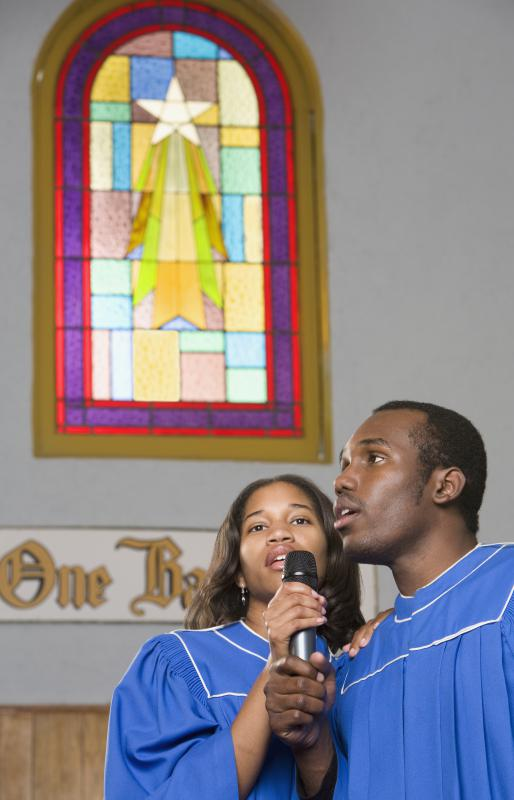 Motown vocals are often similar to those heard in gospel music.