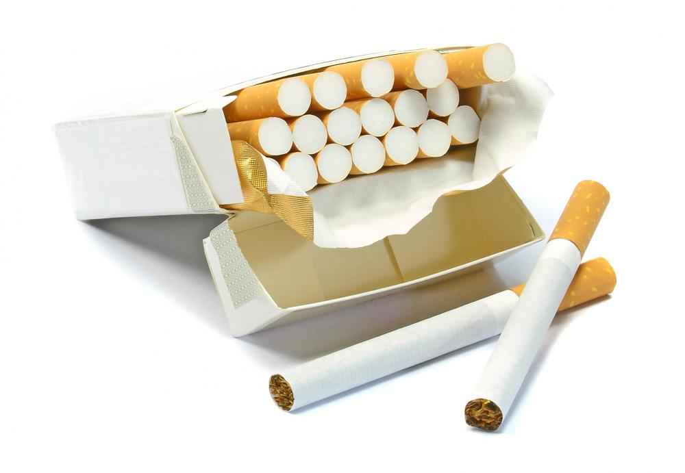Cigarette smoke, an allergen, may cause congestion that leads to sore throat.