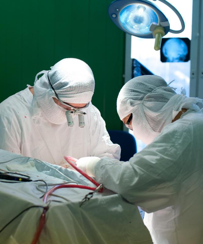 Tumors are often removed through brain surgery, which typically includes anesthesia and a craniotomy.