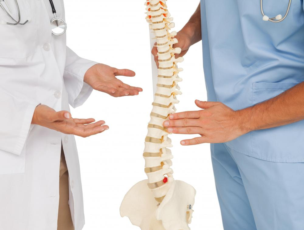 A doctor may request a SPECT bone scan if there are concerns about hairline fractures in the spine.