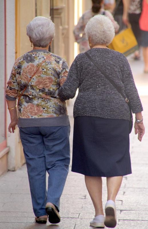 Functional incontinence can affect elderly women who have limited mobility or severe arthritis.