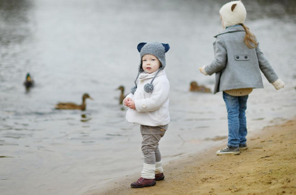 Most children enjoy supervised nature walks where they can see ducks and other wildlife.