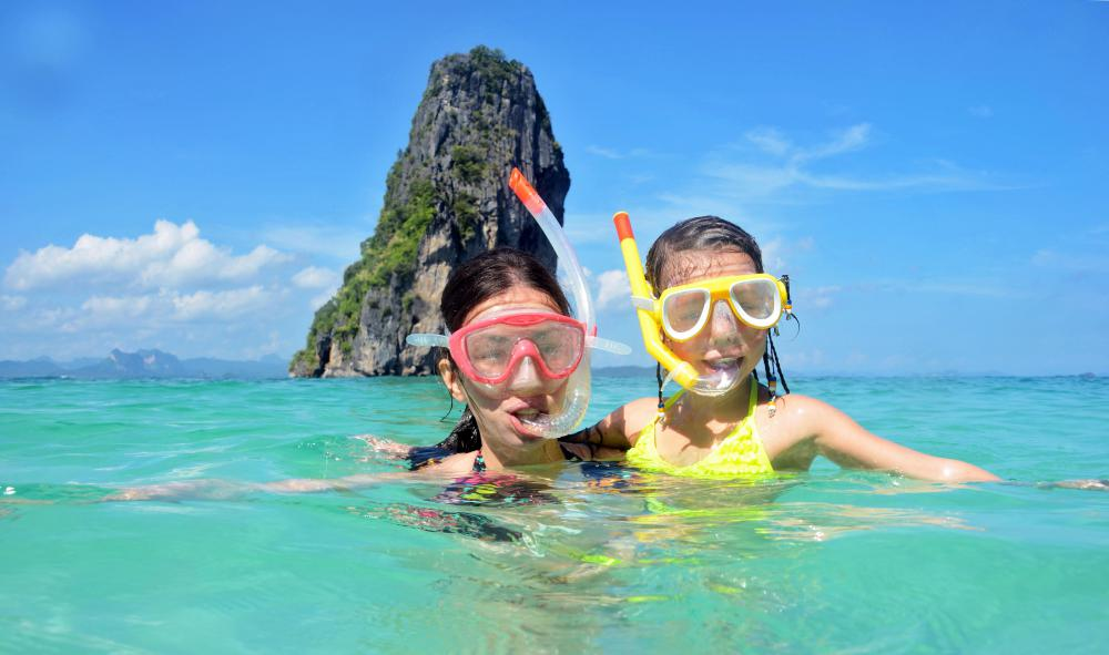 Masks will be required during snorkeling.