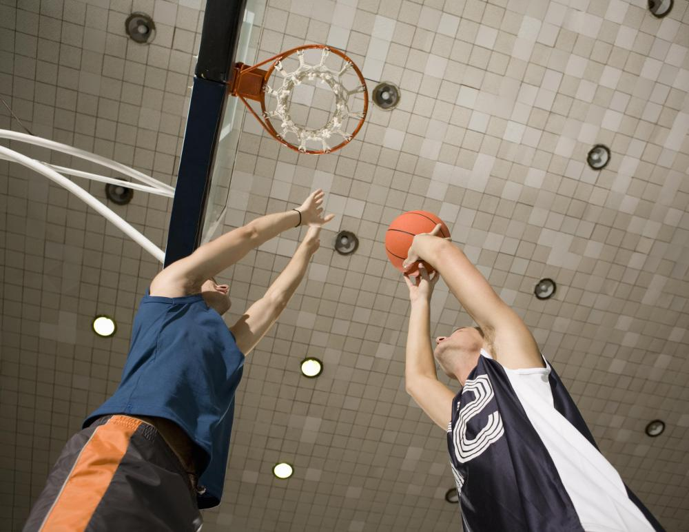 Basketball players may be susceptible to ankle bursitis.