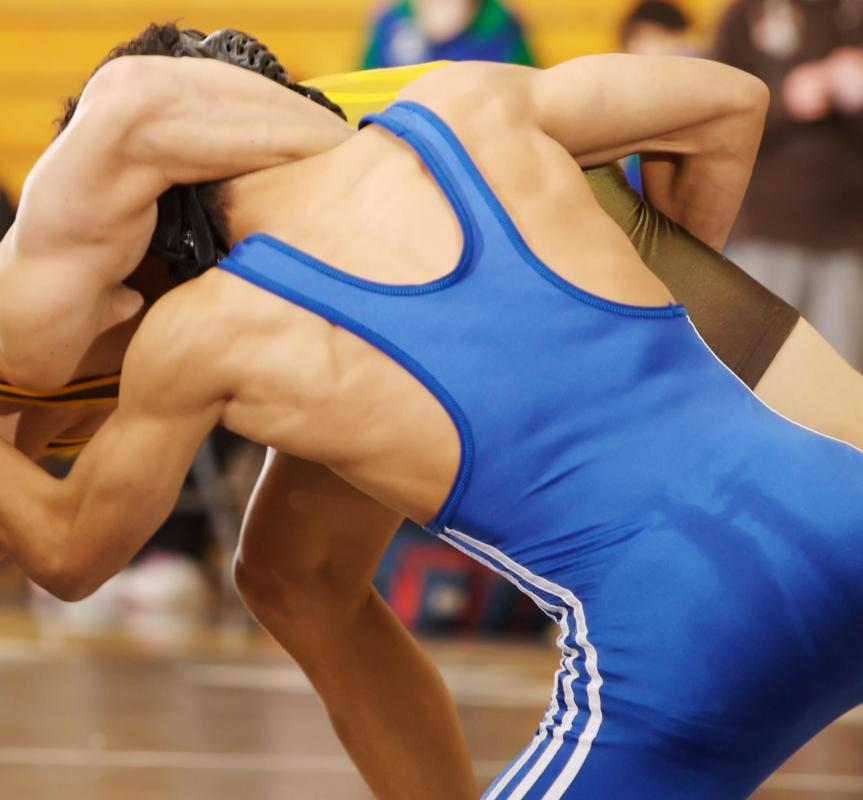Wrestling mats can be used for home gyms.