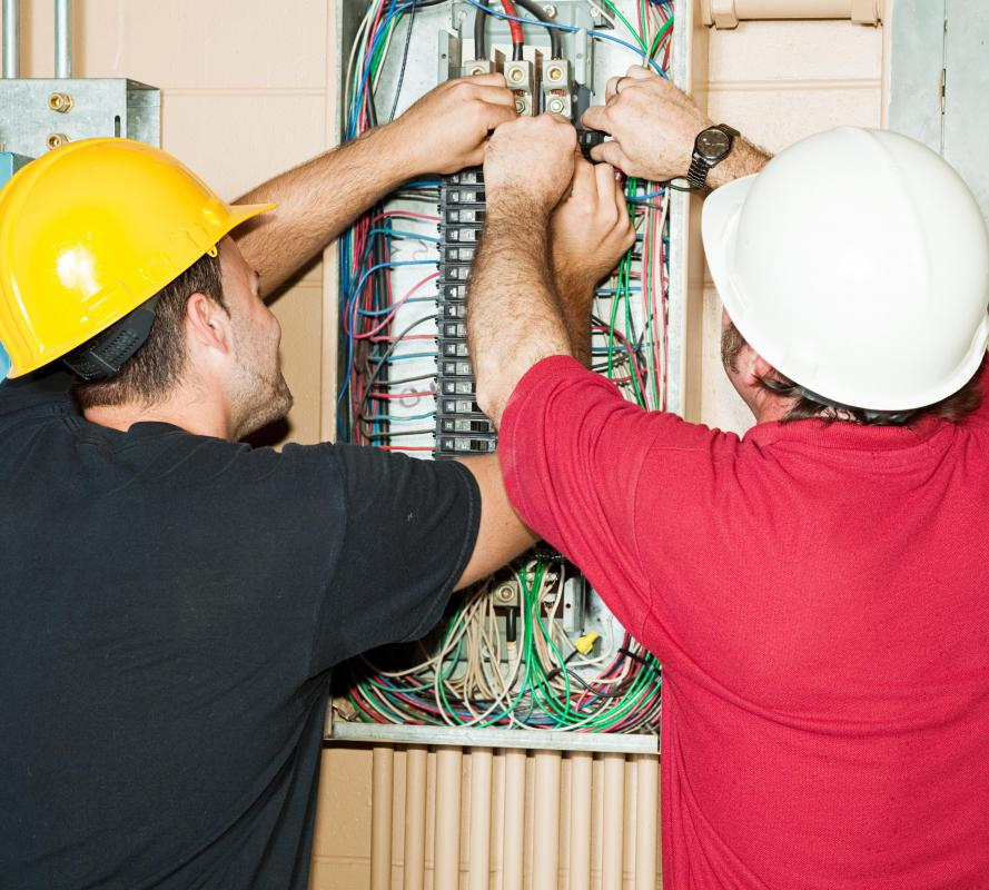 Most electrical training requires a long apprenticeship.