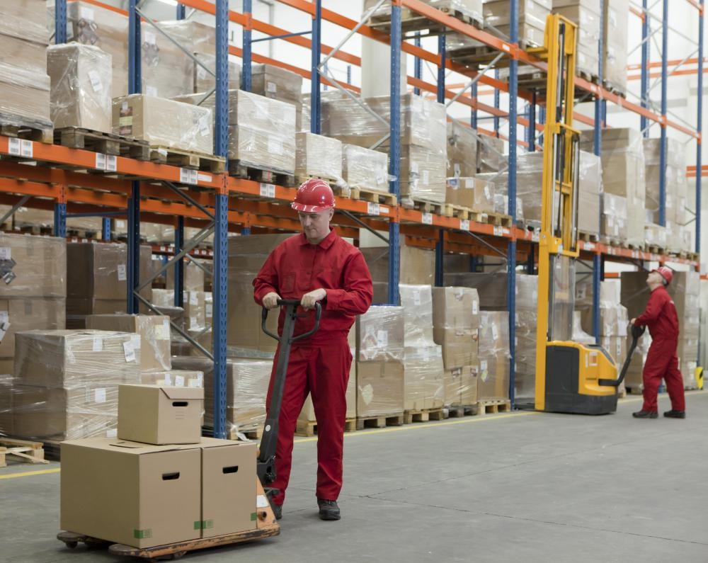 A wholesaler most likely has a large warehouse designed for storage.