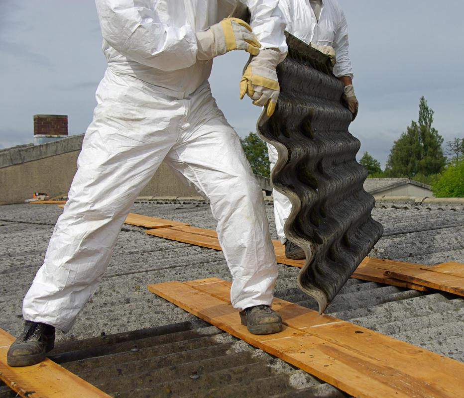 It's a good idea to get quotes from several asbestos removal specialists.