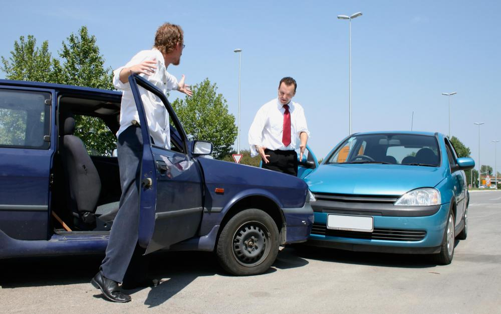 A personal injury insurance settlement might be offered following a traffic accident.