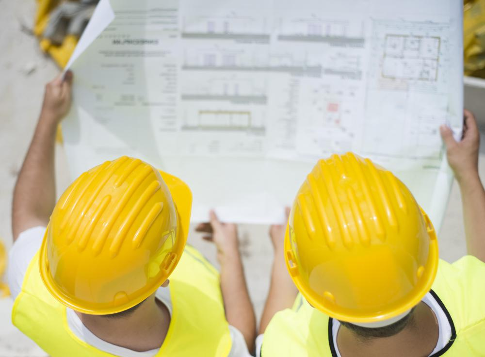 Building control officers are often involved in the construction process.
