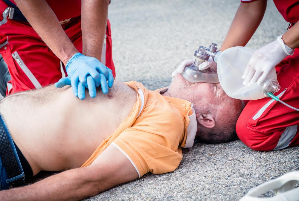 Chest compressions administered during CPR may result in fractured ribs.