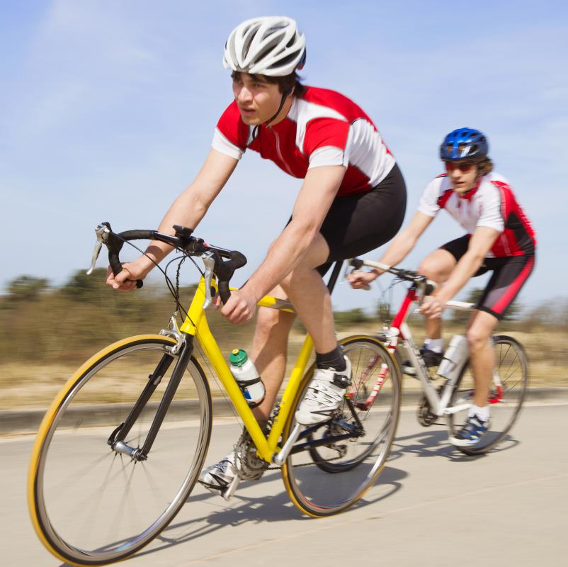 "Many serious cyclists ride with a ""cycling buddy,"" particularly on lengthy road races."