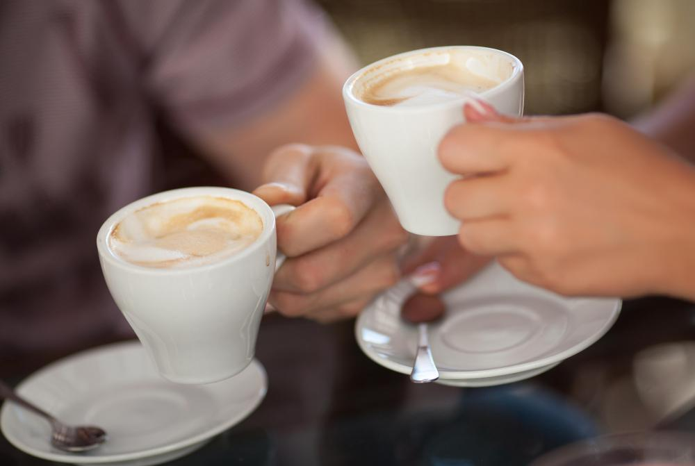 Support groups may meet at casual venues like a coffee shop.