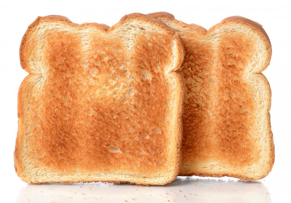 Toast is a component of the BRAT diet.